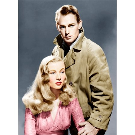 This Gun For Hire From Left Alan Ladd Veronica Lake 1942 Photo Print](Hi Res Halloween Photos)