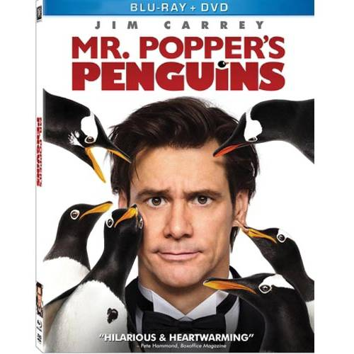 Mr. Popper's Penguins (Blu-ray + DVD) (With INSTAWATCH) (Widescreen)
