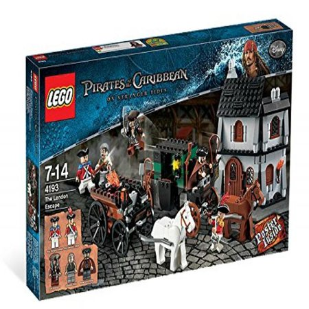 LEGO Pirates Of the Caribbean On Stranger Tides The London Escape