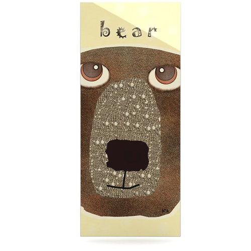 East Urban Home 'Bear' Graphic Art Print on Metal