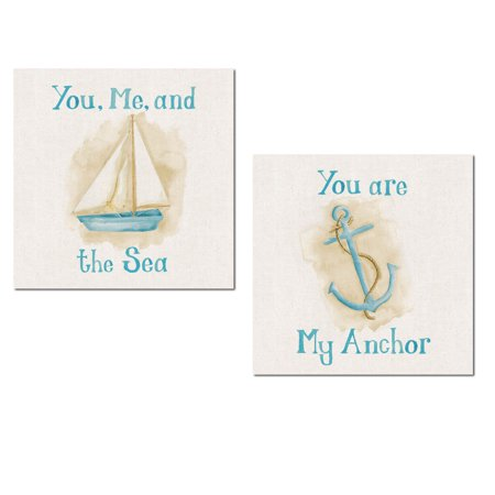 Nautical Watercolor-Style Sweet Sentiment
