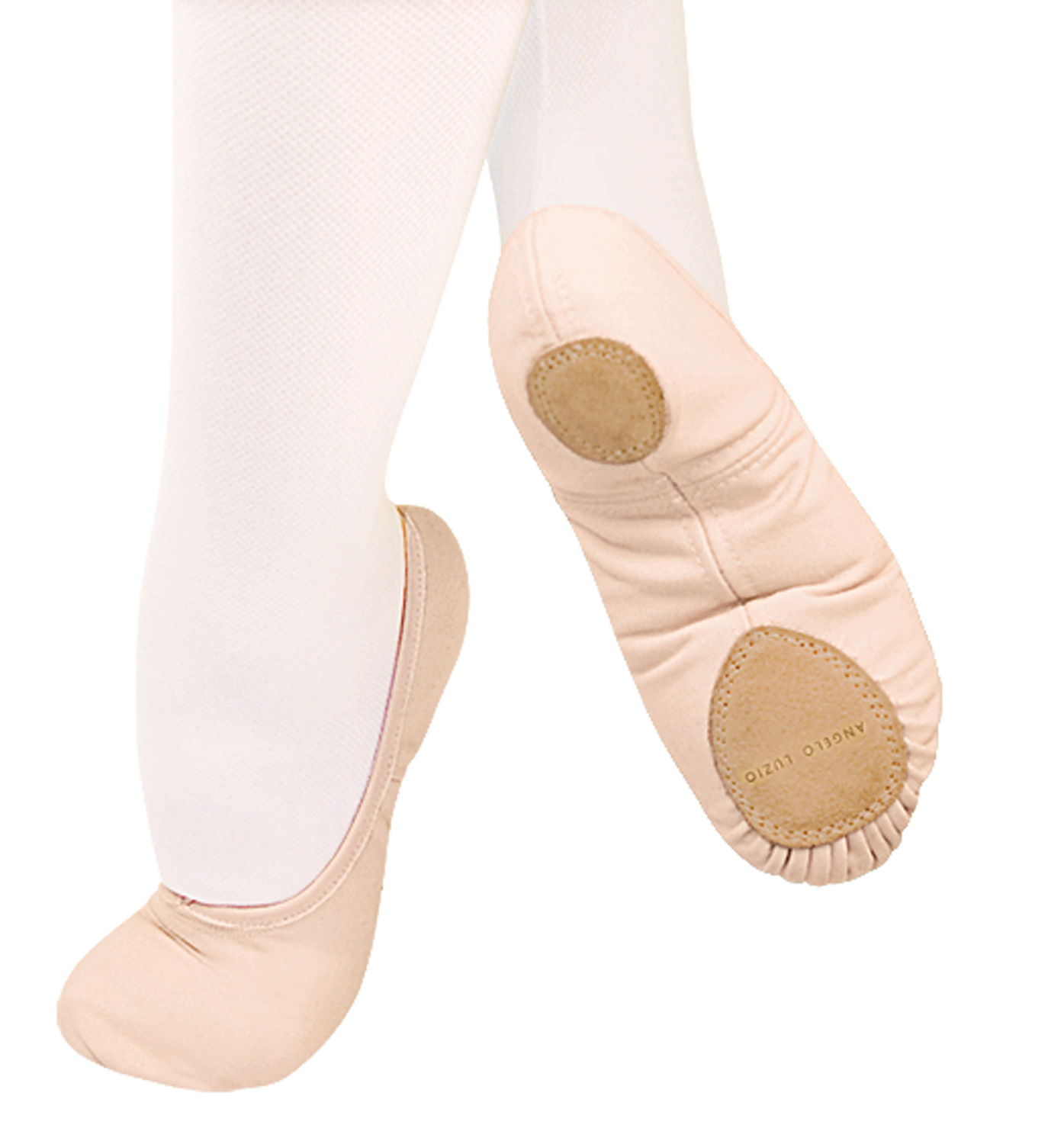 """Image of Adult """"TotalSTRETCH"""" Canvas Split-Sole Ballet Slippers"""
