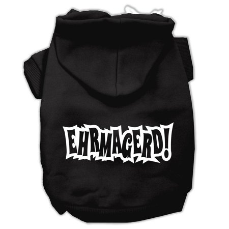 Ehrmagerd Screen Print Pet Hoodies Black Size XL (16) A poly/cotton sleeved hoodie for cold weather days, double stitched in all the right places for comfort and durability!Product Summary : New Pet Products/Screen Print Hoodies/Ehrmagerd Screen Print Pet Hoodies@Pet Apparel/Dog Hoodies/Screen Print Hoodies/Ehrmagerd Screen Print Pet Hoodies@Pet Apparel/Dog Hoodies/Screen Print Hoodies COPY/Ehrmagerd Screen Print Pet Hoodies