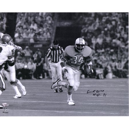 Earl Campbell Houston Oilers Autographed 16