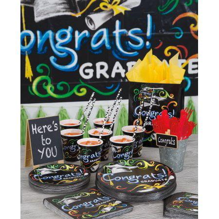 Chalkboard Graduation Party