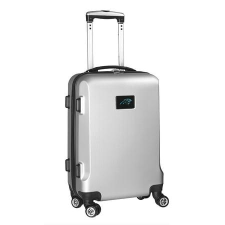 Carolina Panthers 21u0022 8-Wheel Hardcase Spinner Carry-On - Silver