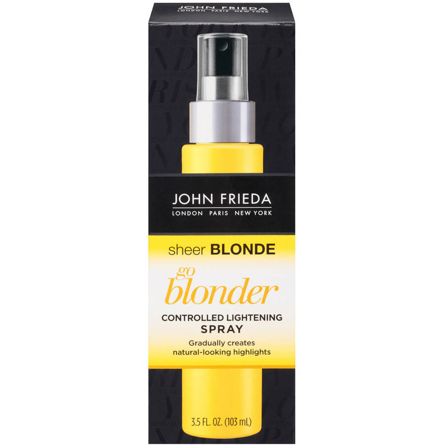 John Frieda Sheer Blonde Go Blonder Controlled Lightening Spray, 3.5 oz