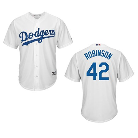 Brooklyn Dodgers Jackie Robinson Youth Cool Base Home Jersey (Youth M)](Jackie Moon Jersey)