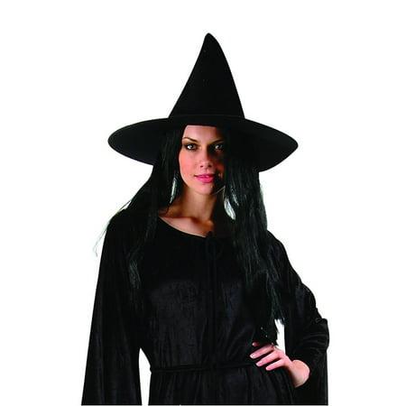 Satin Witch Hat-18