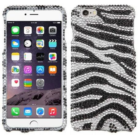 Apple Iphone 3g Zebra (Apple iPhone 6 Plus/iPhone 6S Plus MyBat Diamante Protector Cover Zebra Skin)