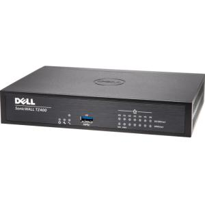 SONICWALL TZ400 TOTALSECURE 1YR - Intrusion Prevention, Malware Protection, Application Control, Content Filtering, Spyware Protection, URL Filtering, Denial of Service (DoS), Stateful Packet Fil
