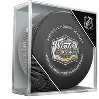 Dallas Stars vs. Nashville Predators 2020 NHL Winter Classic Unsigned Official Game Puck - Fanatics Authentic Certified