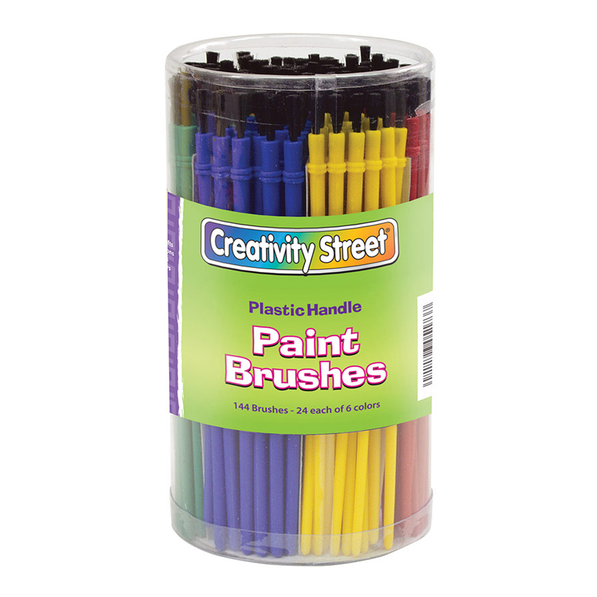 Economy Paint Brushes, 144/Canister