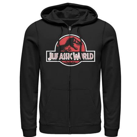 Spiderman Hoodie Mens (Jurassic World Men's Tyrannosaurus Rex Logo Zip Up)
