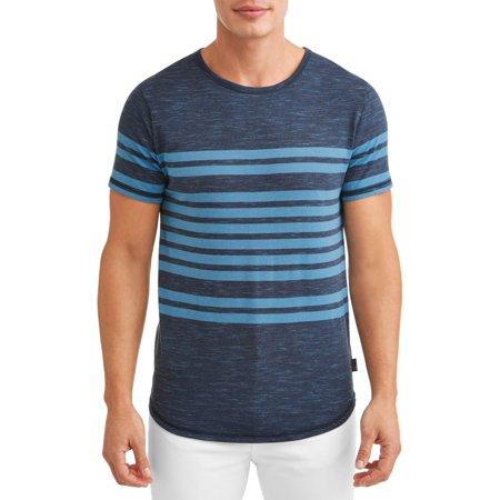 Ocean Current Men's Hudson Dolphin Short Sleeve Stripe T-Shirt ()