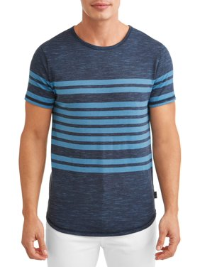 afe0cf67cc39 Product Image Ocean Current Men's Hudson Dolphin Short Sleeve Stripe T-Shirt