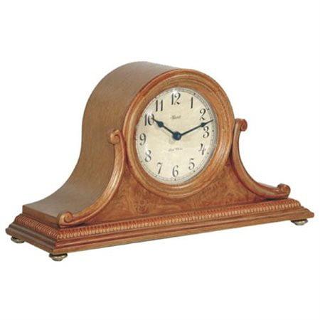 Oak Mantel - Hermle Scottsville Mantel Clock in Oak Sku# 21132I92114 by Hermle