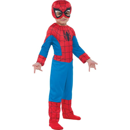 Classic Spider-Man Halloween Costume for Toddler Boys, 3-4T](Spiderman Costumes For Toddlers)