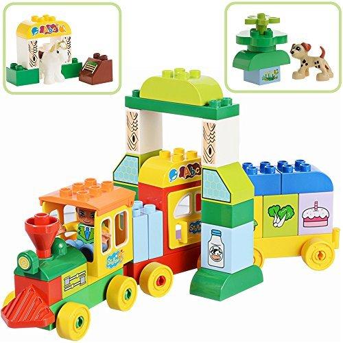Toddlers Learning Blocks for Boys/Girls Age 1-5 STEM ...
