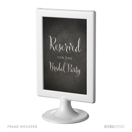 Vintage Bridal (Reserved For The Bridal Party Framed Vintage Chalkboard Wedding Party)