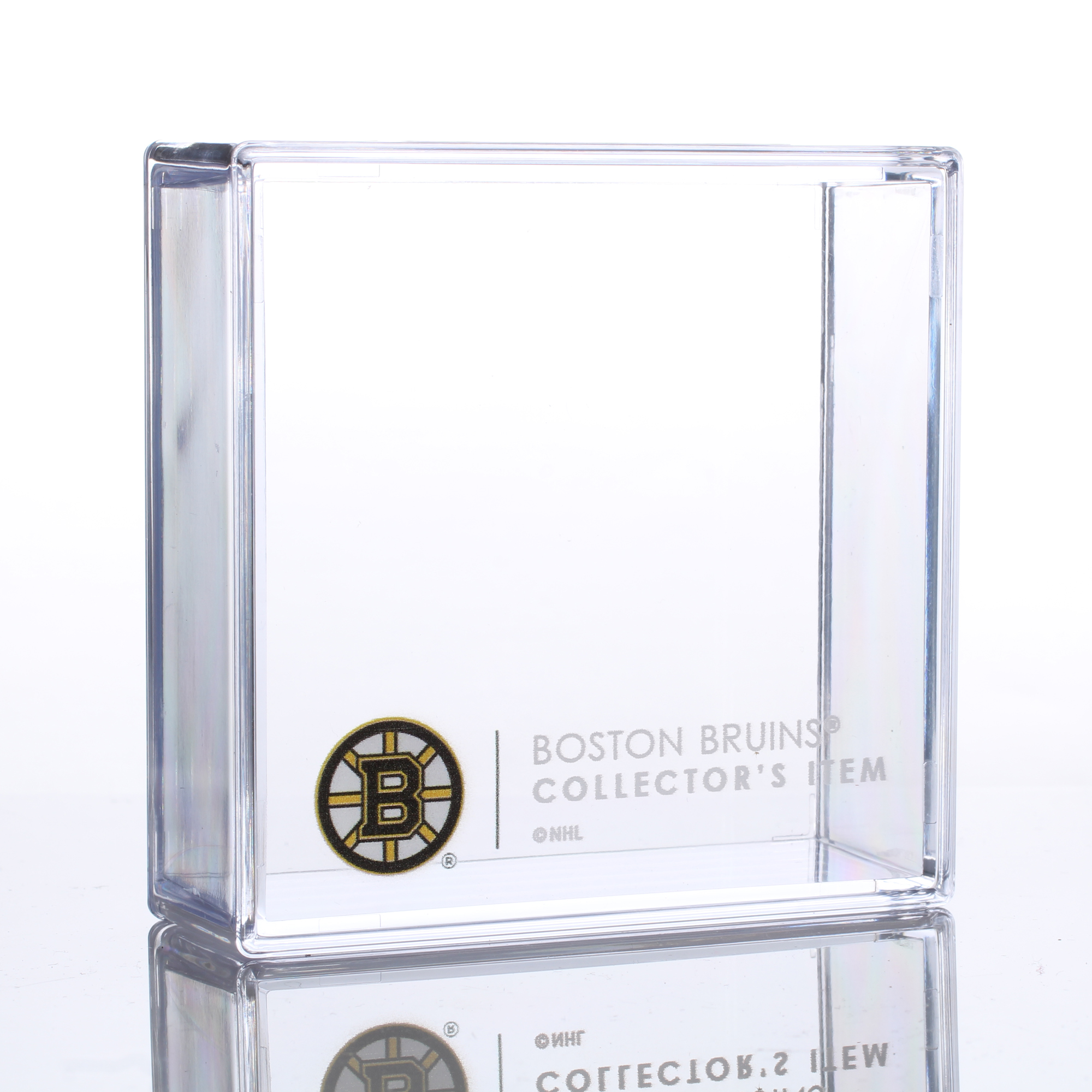 Boston Bruins Sher-Wood Puck Holder Cube - No Size