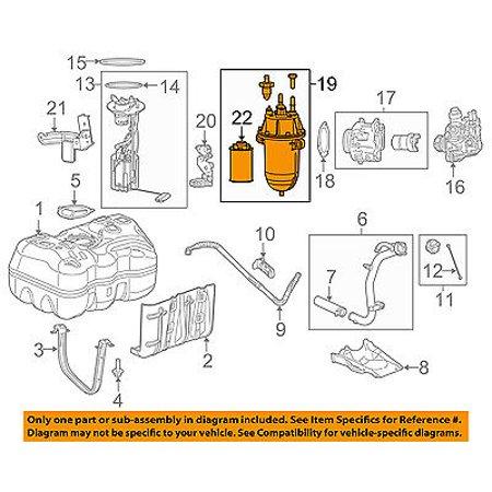 Ram CHRYSLER OEM 14-16 ProMaster 1500 Fuel System-Water Separator 68188907AB