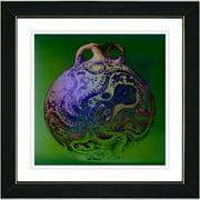 Studio Works Modern ''Octopus Urn'' by Zhee Singer Framed Graphic Art