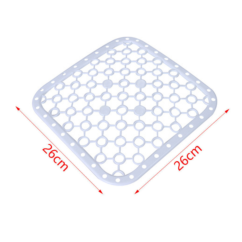 Details about  /super Deluxe Scratch Anti-Slip  Plastic Kitchen Sink Protector Draining Mat