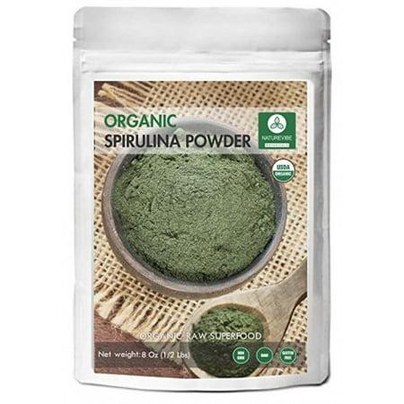 Naturevibe Botanicals Organic Spirulina Powder 8 Oz