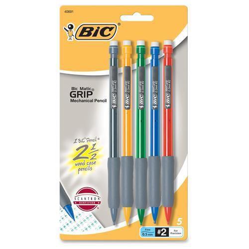 BIC CORPORATION                                    0.5 Mm Matic Grip Mechanical Pencil (Set of 2)