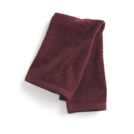 Embroidery Hand Towel (Q-Tees - Hemmed Fingertip Hand Towel )