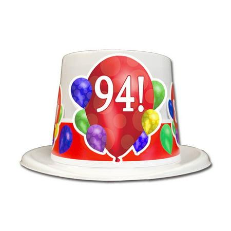 Partypro TQP 3931 94Th Birthday Balloon Blast Top Hat