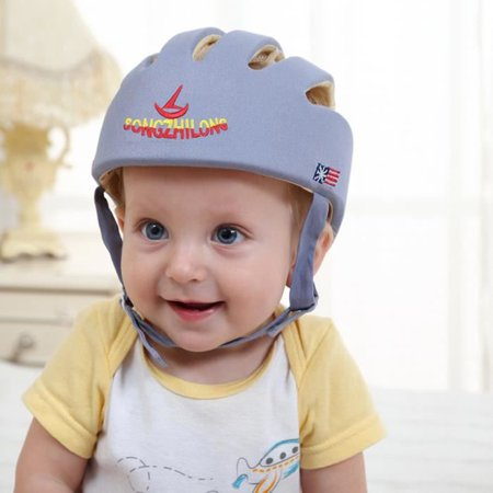 deef6c5b92b6c Salmopeus - Baby Protective Helmet Safety Helmet For Babies Infant Toddler  Protection Soft Hat for Walking Kids Boys Girls Hat Children Cap