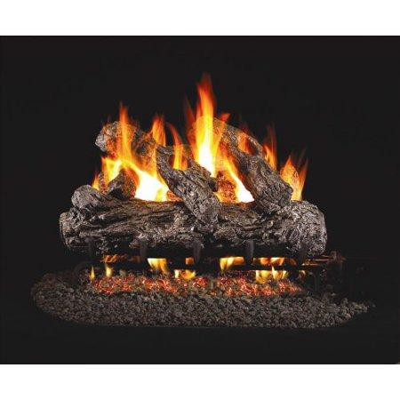 Standard Rustic Oak Gas Logs 18 Inch