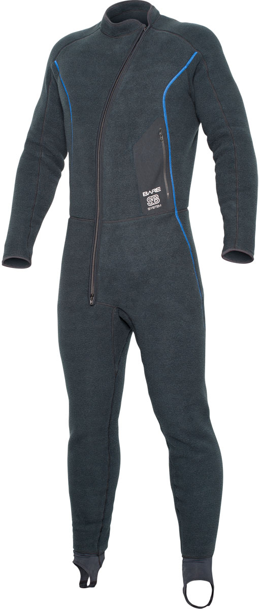 Bare SB System Mens Full Mid Layer (2X-Large) by Bare