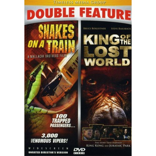 Snakes on a Train/King of the Lost World Double Fe [DVD]