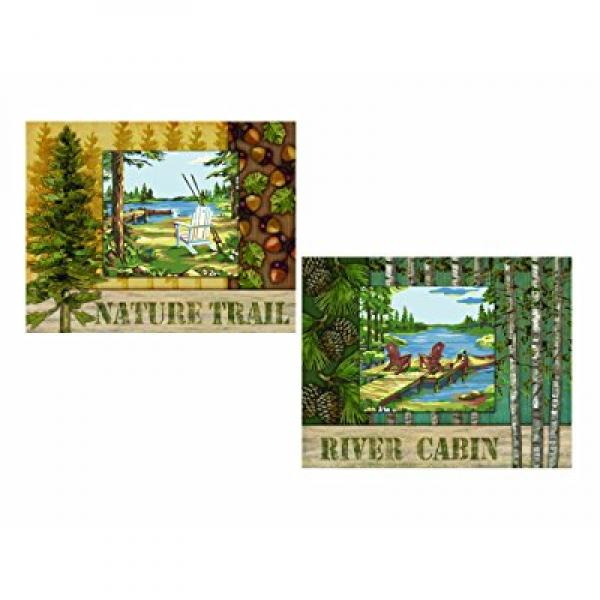 Plaid Creates Paint By Number Studio Series Kit (11 by 14-Inch), 21723 Lakeside Forest