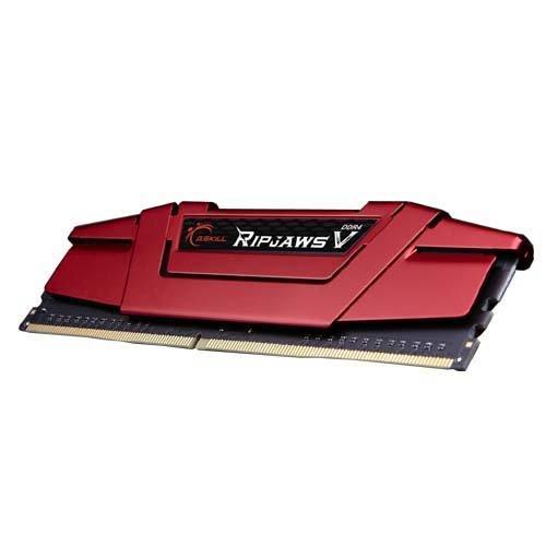 G.SKILL 8GB Ripjaws V Series DDR4 PC4-19200 2400MHz DIMM (F4-2400C15S-8GVR)