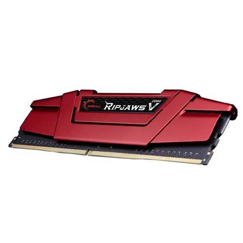 G.SKILL 8GB Ripjaws V Series DDR4 PC4-19200 2400MHz DIMM (F4-2400C15S-8GVR)