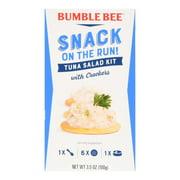 Bumble Bee Snack On The Run! Tuna Salad with Crackers, 3.5 oz Kit