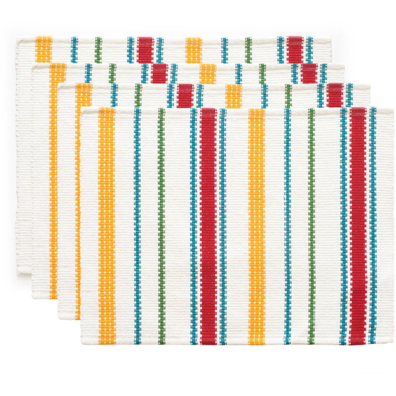 The Pioneer Woman Vintage Stripe Placemat, 4pk