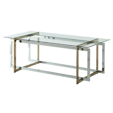 Furniture Of America Pompulus Metal Coffee Table In