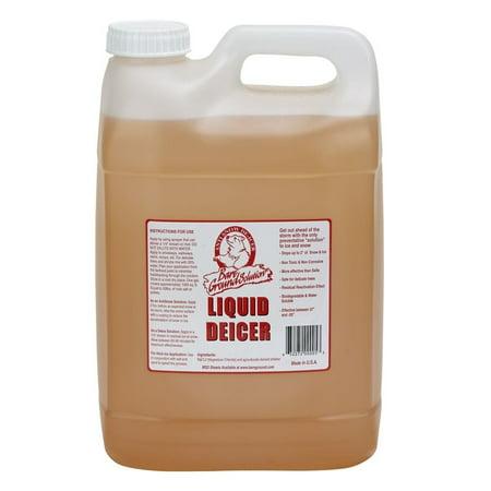 Bare Ground liquid deicer (Base UPC 0063227241111) Size 2.5 Gal (Ground Cleaner)