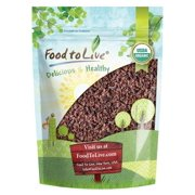 Organic Cacao Nibs, 2 Pounds - Unsweetened, Non-GMO, Kosher, Raw, Vegan, Bulk – by Food to Live