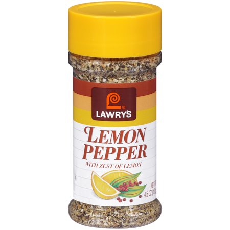 Lemon Asiago - Lawry's Lemon Pepper Blend, 4.5 oz