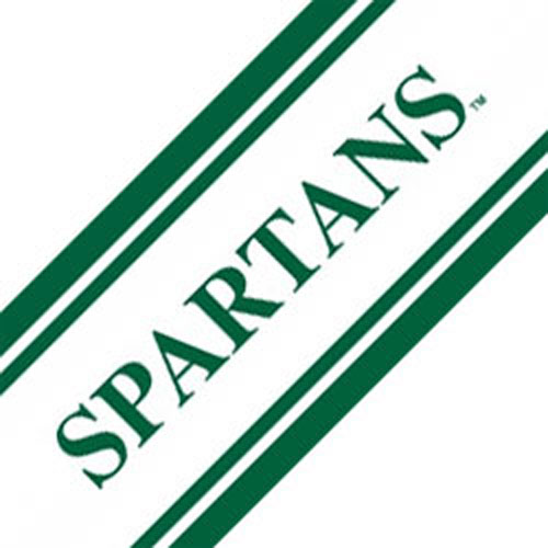 NCAA Michigan State Spartans Accent Self-Stick Wall Border