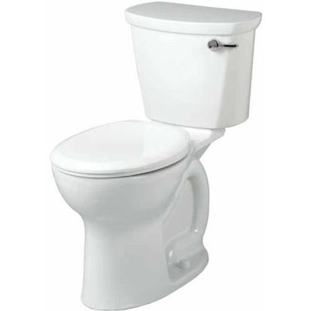 American Standard 215BA.005.020 Cadet=Pro Right-Height Two-Piece 1.6 GPF Toilet with 12