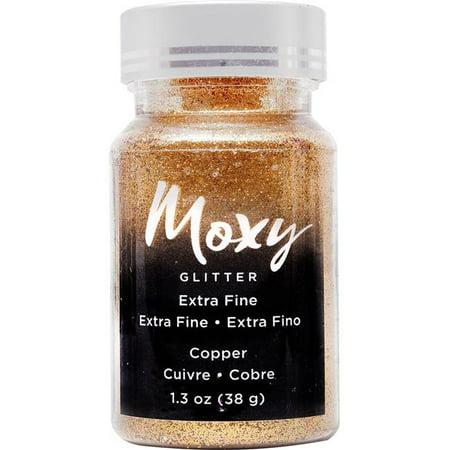 Moxy Extra Fine Glitter 1.5Oz-Copper