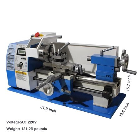 Stupendous Precision Mini Metal Lathe Multifunctional Bench Lathe 220V Gmtry Best Dining Table And Chair Ideas Images Gmtryco