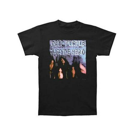 Deep Purple Men's  Machine Head T-shirt Black (A Tribute To Deep Purples Machine Head)